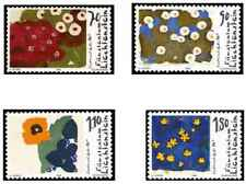 Timbres Arts Tableaux Flore Liechtenstein 1073/6 ** lot 20827