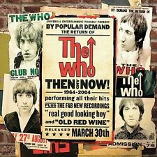 THE WHO THEN AND NOW 1964-2004 CD BEST OF GREATEST HITS 20 TRACKS ROCK TOWNSHEND