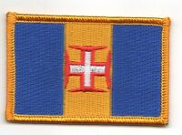 MADEIRA PORTUGAL FLAG PATCH PATCHES BADGE IRON ON NEW EMBROIDERED