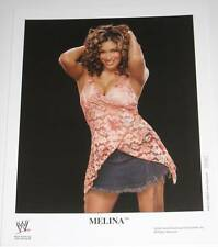 WWE MELINA P-1106 OFFICIAL LICENSED 8X10 PROMO PHOTO