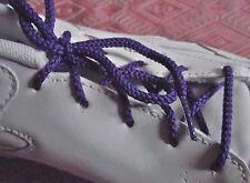 LACETS Ronds Chaussures 5 oeillets 63 cm Paire shoelace violet  ado enfant