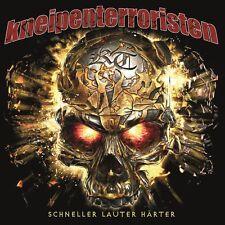 KNEIPENTERRORISTEN -  SCHNELLER LAUTER HÄRTER CD + KT UND FREUNDE CD GRATIS DAZU
