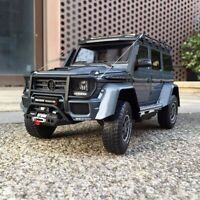 New 1:18 Almost Real Brabus 550 adventure Mercedes Benz G class 4x4 car model