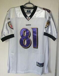 Baltimore Ravens  NFL Jersey Shirt Reebok Anquan Boldin #81 size 48