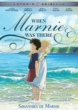 When Marnie Was There - Studio Ghibli (DVD only, 2015) Animation / Anime