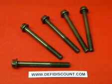 Vis M6x55mm vendu par 10 filetage sur 21mm