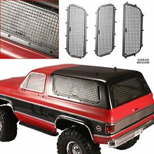 3Pcs/set Metal Mesh 3D Stereo Window Net for TRX-4 T4 Chevrolet K5 Blazer RC Car