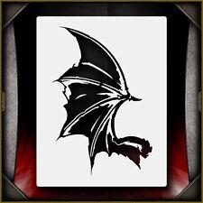 Evil Wing 3 -  Airbrush Stencil Template Airsick Demon Dragon Bat