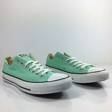 Converse Chuck Taylor CTAS OX Beach Glass Light Green White 136565F Mens Size 11