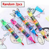 2pc Children Painting Toys Crayon Kids Oil Pastels Graffiti Pen Art FUNNY Gifts