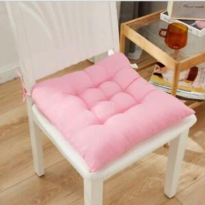 15 Colors Homemade Cushion Pad Seat Chair Patio Home Car Sofa Office -Square