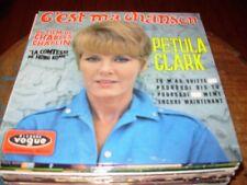 "PETULA CLARK c'est ma chanson ( world music ) 7""/45 picture sleeve"