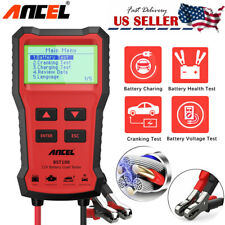 BST100 12V Car Battery Load Tester Analyzer Cranking Charging Diagnostic Tool US
