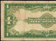 LARGE 1923 $1 DOLLAR BILL BIG SILVER CERTIFICATE CURRENCY NOTE PAPER MONEY