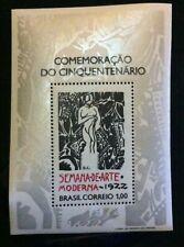 Brazil  SC #12222  Mint H  Souvenir Sheet  1972