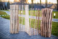 Staketenzaun Holzzaun Kastanienzaun Gartenzaun Zaunlatte imprägniert 50 90 120cm