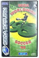 Sega Worldwide Soccer '98 - Jeu Sega Saturn - Avec notice / Fonctionnel - PAL