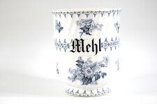 Vorratsdose Mehl Franz. Sarreguemines Keramik im Jugendstil (1890-1919)