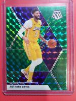 2019-2020 Panini Mosaic ANTHONY DAVIS Green Prizm LAKERS on 🔥 🔥