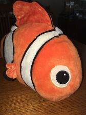 "Nemo Disney Store Plush toy 18"" by 10"" approx."