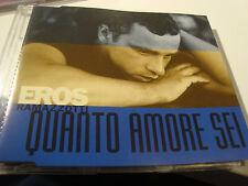 RAR MAXI CD. EROS RAMAZZOTTI. QUANTO AMORE SEI. 3 TRACKS