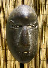 """African Nyanga Mask From The DRC Congo 11 1/2 """" Tall"""