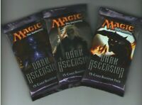 3 X MTG Magic the Gathering DARK ASCENSION BOOSTER PACK SEALED