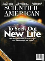 Scientific American Magazine New Life Global Climate Children Sight Tuberculosis