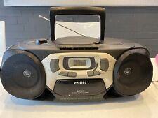 Philips AZ 1203 CD Radio Cassette Recorder -Bitte Lesen !