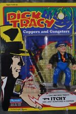 1990 Playmates Dick Tracy Coppers and Gangsters Itchy Figure Unpunched