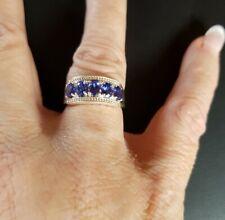 BLUE GENUINE SAPPHIRE RING
