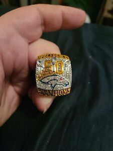 Von Miller - Denver Broncos 2015 Super Bowl Championship Ring Size 11