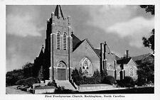 Rockingham North Carolina First Presbyterian Church