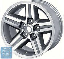 "1985-87 Camaro Rear Aluminum Wheels 16"" X 8"" - 5 - 1/8"" Backspace - Each"