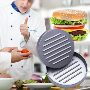 Non-Stick Aluminum Burger Press & Grill Patty Maker for Hamburgers BBQ Brand New