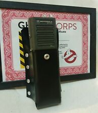 Ghostbusters radio holster prop black leather