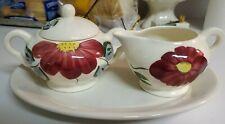 Vintage Blue Ridge Pottery Creamer And Sugar