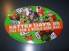NEW HOLLAND BREWING Hatter Days STICKER craft beer brewery dragons milk