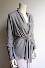 ❄❄NEW#  MAX MARA Grey 100% Cashmere Cardigan, size XL