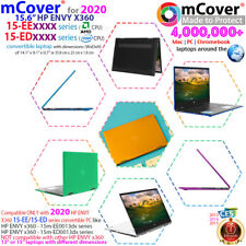 """New mCover® Hard Shell Case for 2020 15.6"""" Hp Envy X360 15-Ed Intel 15-Ee laptop"""
