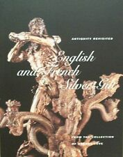 BOEK/BOOK/LIVRE : ENGLISH AND FRENCH SILVER GILT zilver argenterie frans engels
