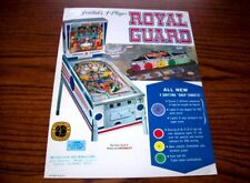 Gottlieb ROYAL GUARD 1968 Original Flipper Game Pinball Machine Promo Flyer