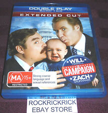 THE CAMPAIGN - BLU-RAY + DVD (DOUBLE PLAY) -WILL FERRELL,ZACH GALIFIANAKIS-