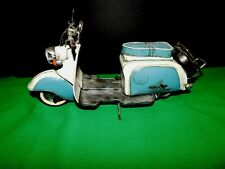 Vespa Scooter Motorcycle tin tinplate blechmodell handmade Vintage VERY COOL