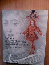 TRESORS DE LA BIBLIOTHEQUE NATIONALE DE FRANCE volume 1 :  mémoires et