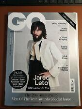 British Gq Magazine October 2017 Jared Leto Collector's Edition
