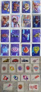 16 PAW PATROL Magnete + 16 TATTOOS, Lidl, Sammelaktion, RUBBLE, CHASE, MARSHALL