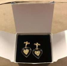 AVON VTG.*ROMANTIC REVIVAL PIERCED EARRINGS W/SURGICAL STEEL POSTS 1994 D20