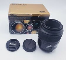Nikon AF Micro Nikkor 105mm f/2.8D Lens in Original Box
