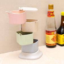 Spice Container Jar Condiment Dispenser Salt Seasoning Box Kitchen 4 Boxes